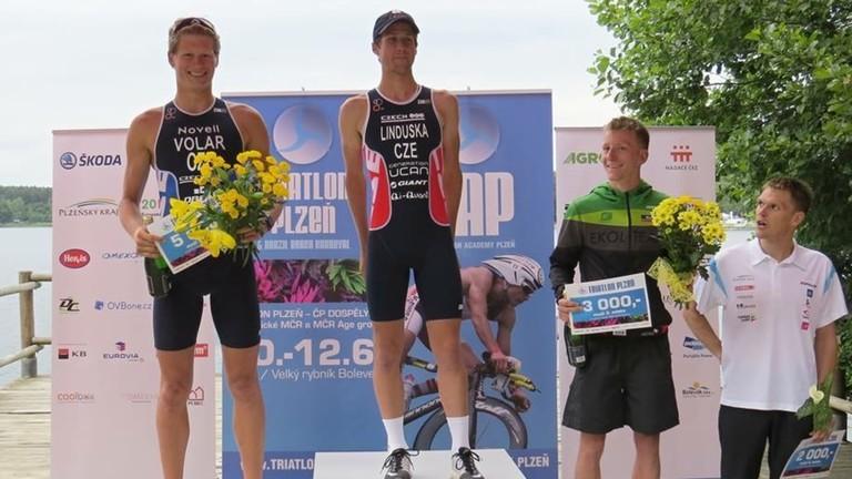 František Linduška  Tschechischer Staatsmeister 2016 im Triathlon